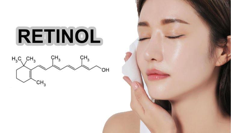 cách dùng retinol