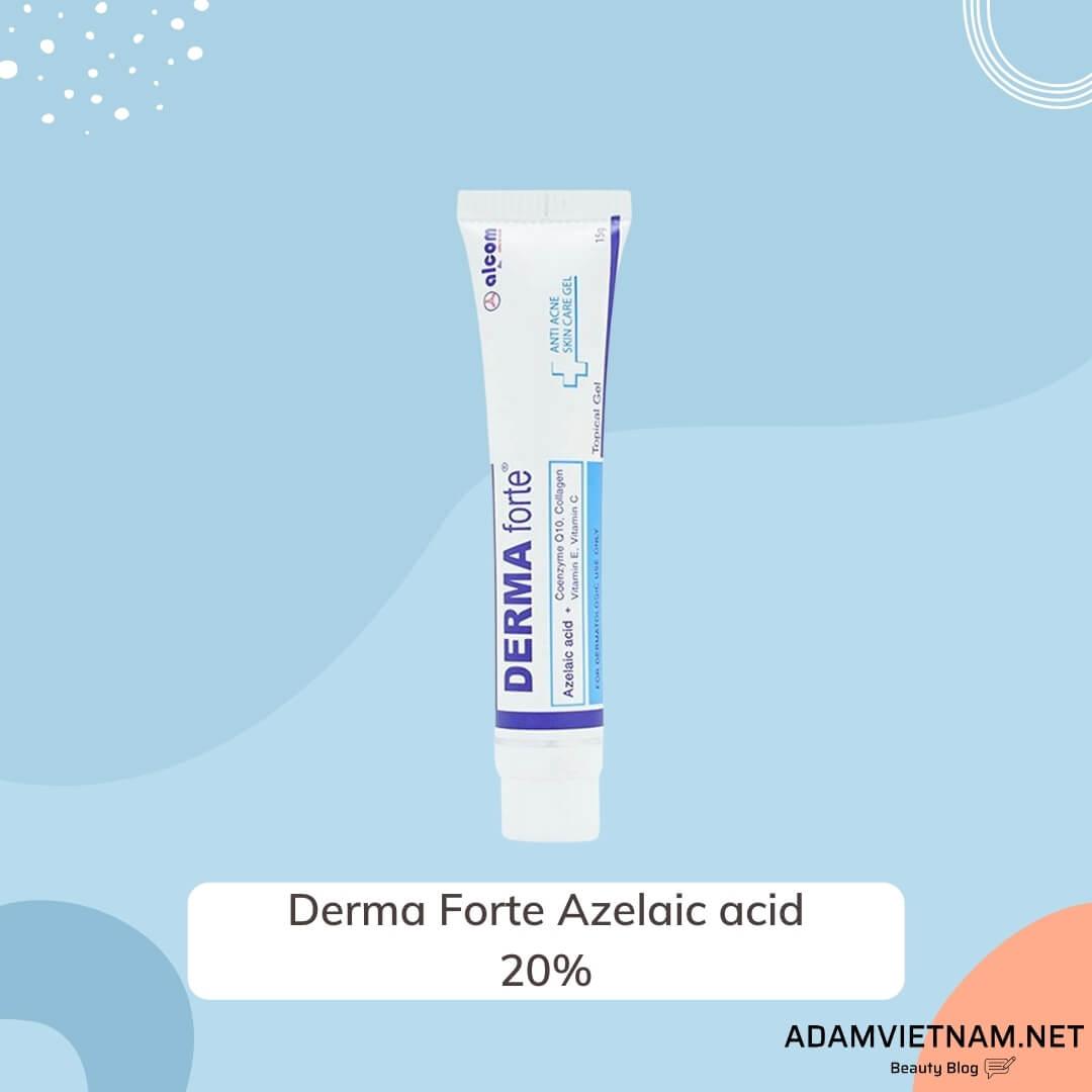 Kem trị mụn Derma Forte Azelaic acid 20%