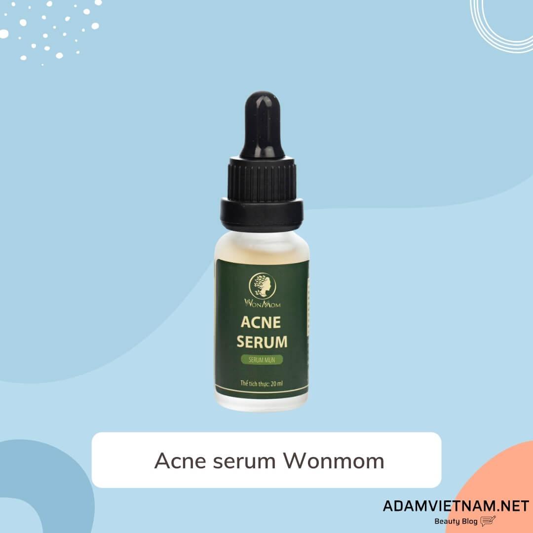 Serum trị mụn cho bà bầu Acne serum Wonmom