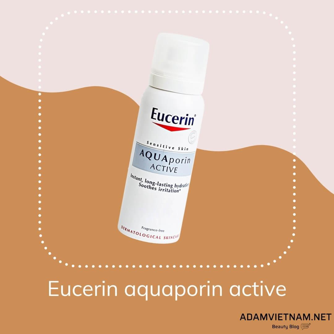 Xịt khoáng Eucerin aquaporin active
