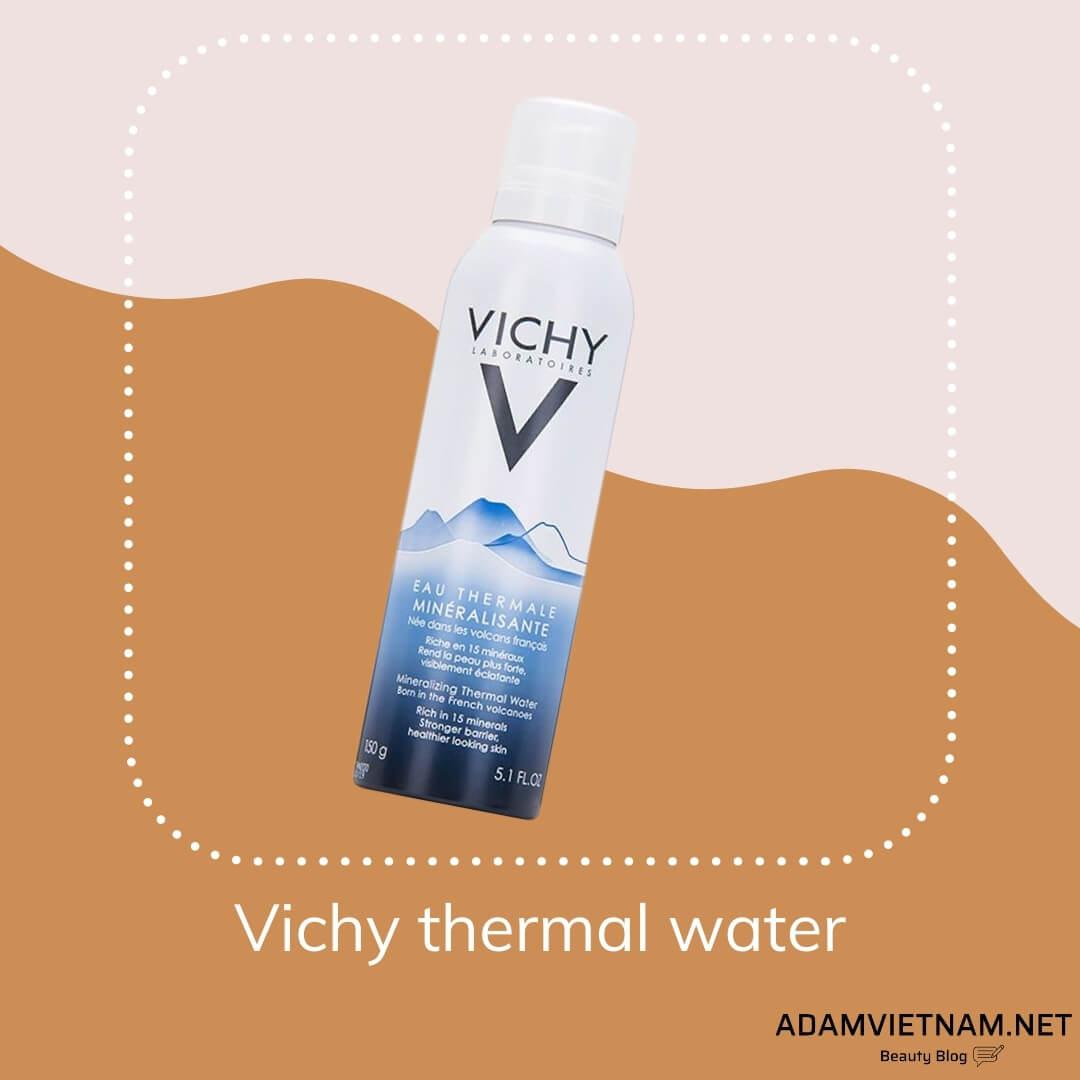 Xịt khoáng Vichy thermal water
